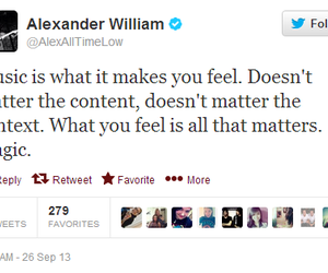 alex gaskarth, all time low, and quote image