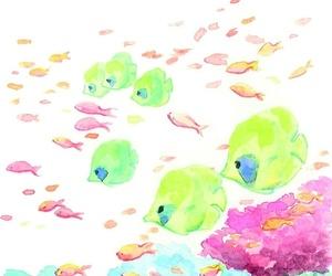 creative, fish, and pretty image