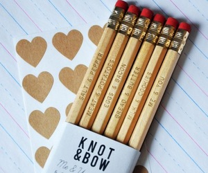 pencil and cute image
