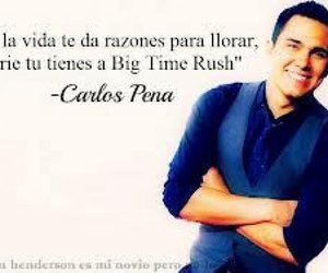big time rush, rusher, and carlos pena image