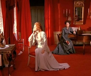 cries and whispers, red room, and Liv Ullmann image