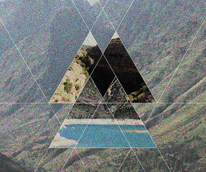 triangle, cool, and hipster image
