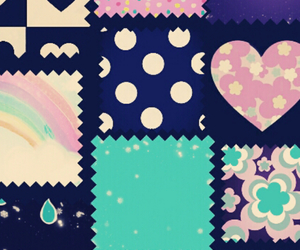 wallpaper, heart, and girly image