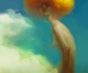 deviant art and yellow image