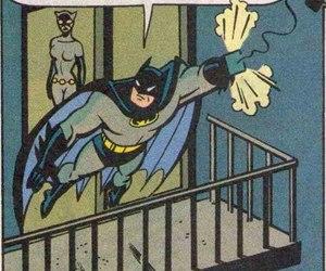 batman, catwoman, and comic image
