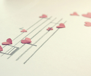 heart and music notes image