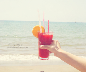 drink, happiness, and paradise image