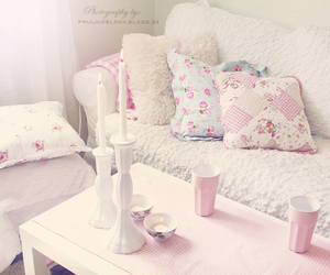 cozy, pastel, and pink image