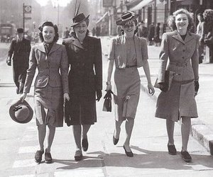 40s, women, and vintage image