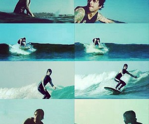 surf and green day image