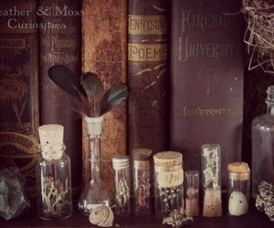 book, magic, and vintage image