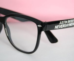 gay, glasses, and justin bieber image