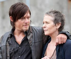 the walking dead, carol, and daryl dixon image