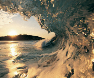 waves, water, and sea image