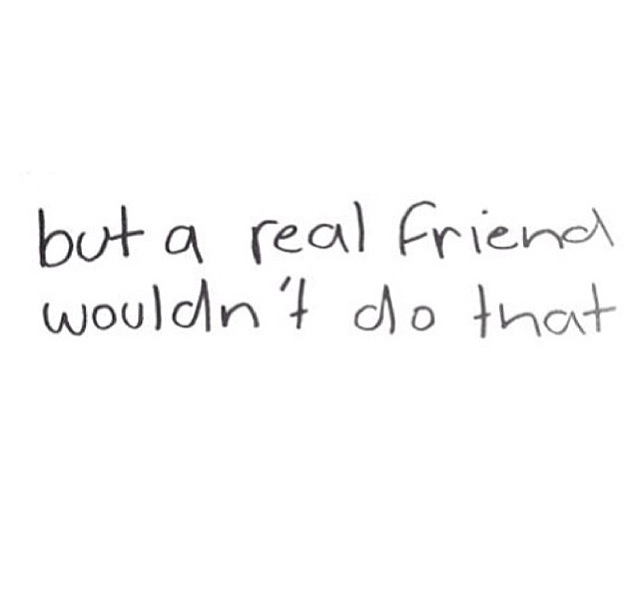 Pretty Much Sums Up My Friendships Right Now