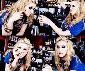 kesha, ke$ha, and drink image