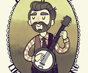 banjo, folk, and music image