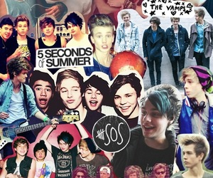 5sos, the vamps, and 5 seconds of summer image