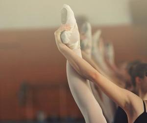 ballet, stretch, and vintage image