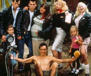 cry baby, iggy pop, and johnny depp image