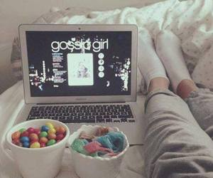 gossip girl, sweet, and bed image