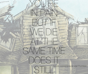 pierce the veil, ptv, and collide with the sky image
