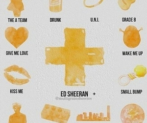 ed sheeran and songs image