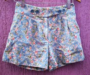 clothing, floral, and girl image