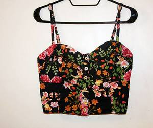 clothing, floral, and pretty image