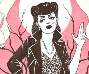 rockabilly and art image