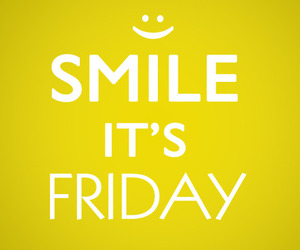 friday, smile, and happy image