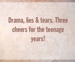 drama, lies, and quote image