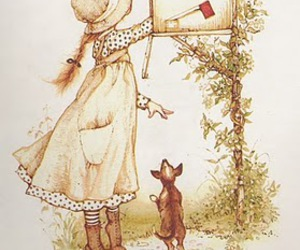 holly hobbie and mailbox image