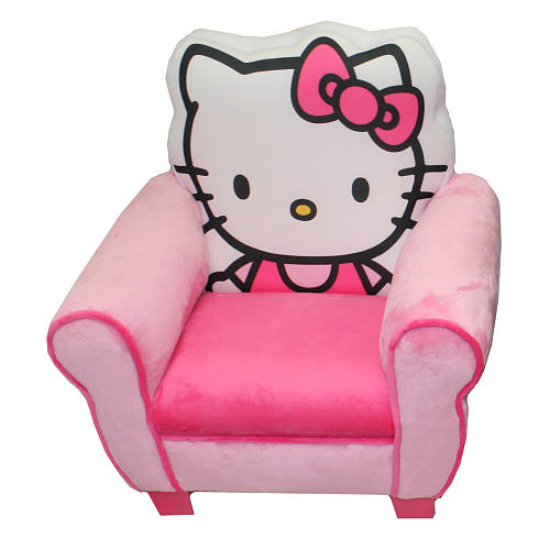 Prime Harmony Kids Hello Kitty Upholstered Chair On We Heart It Pabps2019 Chair Design Images Pabps2019Com