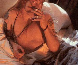 axl rose, Guns N Roses, and smoke image