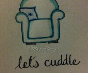 comfy, cuddle, and simple doodles image