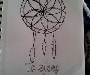 dream catcher, sleep, and obsessed image