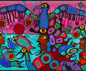 art, painting, and tribal image