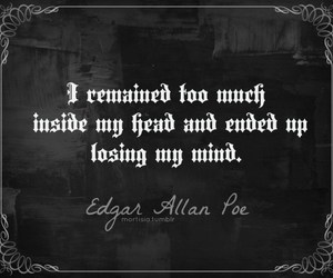 quotes, edgar allan poe, and poe image