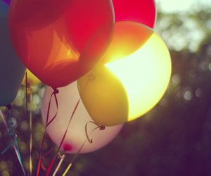 balloons, colors, and photography image