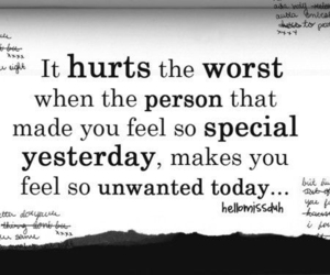 hurt, quote, and special image