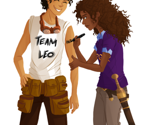 leo valdez, percy jackson, and team leo image