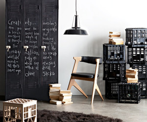 interior and black image