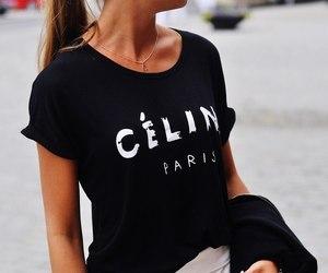 fashion, celine, and girl image