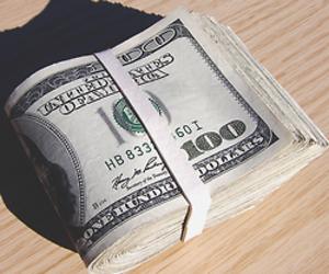money, 100, and dollar image