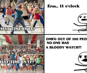 cereal guy, funny, and high school musical image