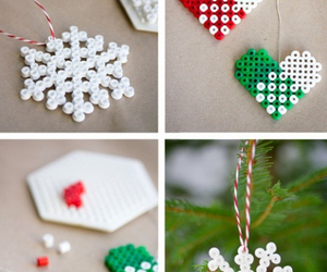 christmas, diy, and snowflake image