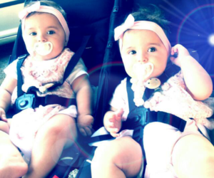 baby, sweet, and twins image