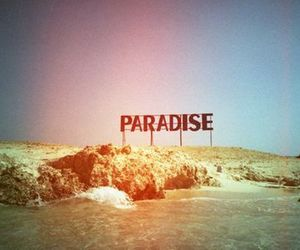 paradise, beach, and sea image