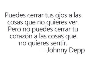 frases, johnny depp, and corazon image